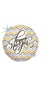 Ballon Happy New Year Elégant celebration standard