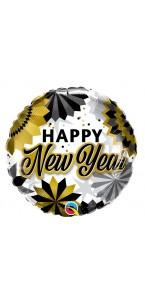 Ballon Happy New Year supershape 45 x 91 cm