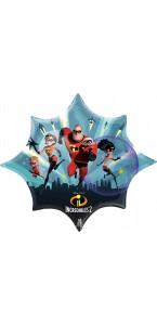 Ballon Indestructibles Supershape 88 x 73 cm