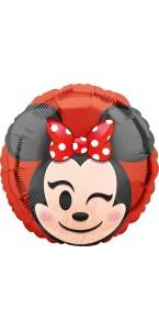 Ballon Minnie Emoji