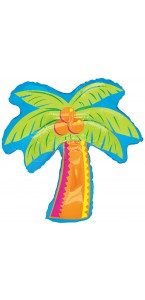 Ballon Palmier tropical supershape 68 x 86 cm