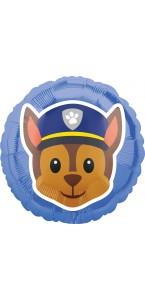 Ballon Pat Patrouille Chase Emoji