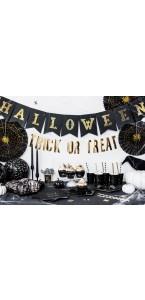 Bannière Halloween noire 20 x 175 cm