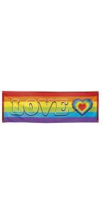 Bannière Rainbow 74 x 220 cm