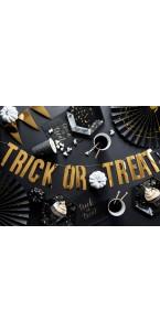 Bannière Trick or Treat Halloween or 12 x 80 cm