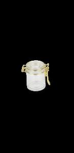 Bocal à conserve couvercle or 40 ml