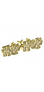 Bague Hip Hop dorée