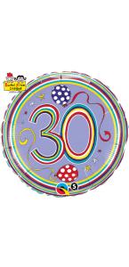 Ballon Anniversaire Rachel Ellen Designs 30 ans