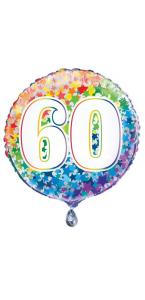 Ballon Anniversaire Rachel Ellen Designs 60 ans