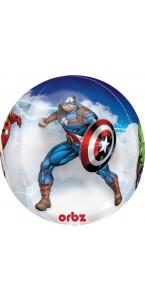 Ballon Avenger Clear Orbz 38 x 40 cm
