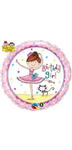Ballon Ballerine anniversaire