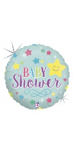 Ballon Bubble Baby shower 55 cm