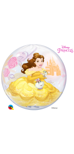 Ballon Bubble Princesse Belle 55 cm