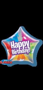 Ballon étoile anniversaire