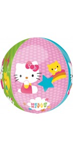 Ballon Hello Kitty ORBZ 38 x 40 cm