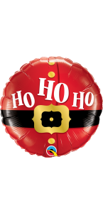 Ballon Ho Ho Ho Noël 45 cm