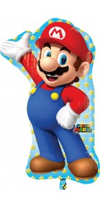 Ballon Mario Bross Supershape 55 cm x 83 cm