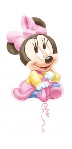 Ballon Minnie baby girl 51 x 84 cm