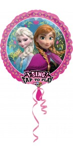 Ballon musical Reine des Neiges