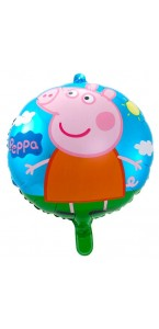 Ballon Peppa Pig en mylard 43 cm