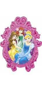 Ballon Princesses frame