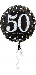 Ballon Sparkling Celebration Birthday 50