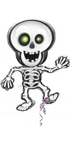 Ballon Squelette dansant Halloween 74 x 84 cm