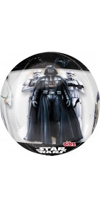 Ballon Star Wars Orbz Clear 38 x 64 cm