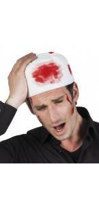 Bandage tête ensanglantée Halloween