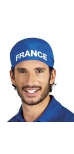 Bandana bleu marine France