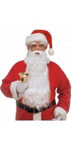 Barbe + sourcils père Noël luxe