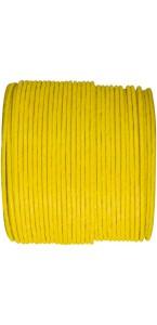 Bobine de cordon laitonné papier jaune