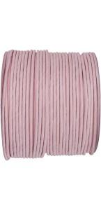 Bobine de cordon laitonné papier rose