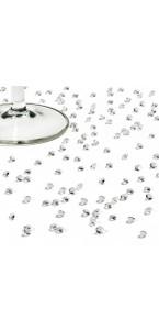 Boîte de 1800 mini-diamants transparents 4,5 mm