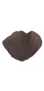 Boîte de 200 Pétales de rose chocolat en tissu
