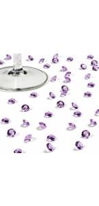 Boîte de 500 diamants lilas 8 mm