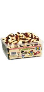 Boîte de bonbons Flanbotti caramel Haribo