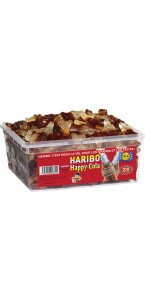 Boîte de bonbons Happy Cola Haribo