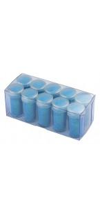 Boîte verseuse paillettes fluo turquoise 14 ml