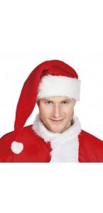 Bonnet Père Noël luxe