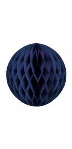 Boule alvéolée ballon bleu roi 30 cm