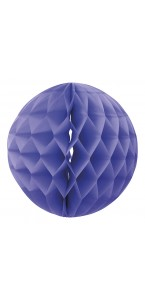 Boule alvéolée lavande 30 cm