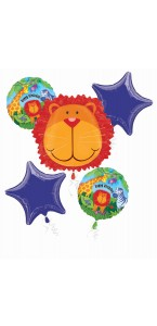Bouquet de ballons Animaux anniversaire
