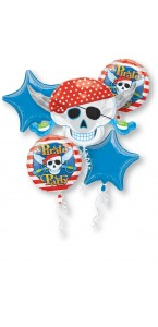 Bouquet de ballons Pirate anniversaire