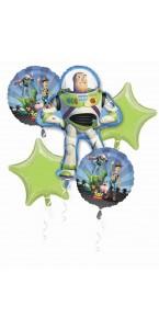 Bouquet de ballons Toy story anniversaire