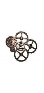 Broche steampunk