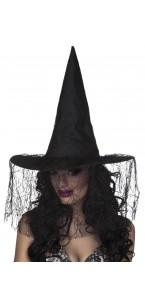 Chapeau de sorcière Seda Halloween