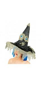 Chapeau de sorcière avec des yeux Halloween