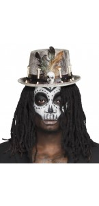 Chapeau Vaudou Nawu Halloween