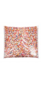 Confettis multicolores 1kg